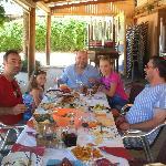 Con Pablo, mi hija Jorgelina y unos amigos