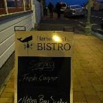 Outside the Bistro