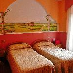 Hotel La Marchesina, pokój
