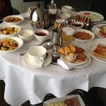our huge in full breakfast for 2.