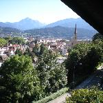 Veduta panoramica della città