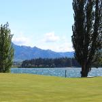 view of Lake Wanaka & Mt. Aspiring Nat'l Park from our unit at Edgewater