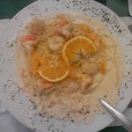 Shrimp and Scallops Boca Grande
