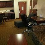 Two room suite... looking towards dor