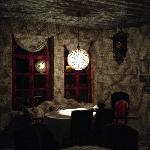 night light in the dining room