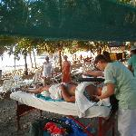 the Beach Massage in Playa Hermosa, by Condovac