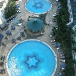 View of pool from 22nd Floor North Tower