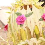 Hand woven Wedding decorations