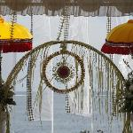 Hand woven Wedding decorations