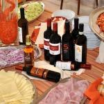buffet salato e vino