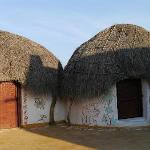 The huts