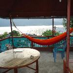 The hammock, overlooking Lake Phewa