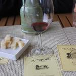 Great cheese available to accompany great wines