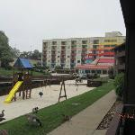play area and Sun Bay Hotel