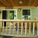The Birches B&B Porch