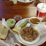 Fresh Air's Deluxe BBQ plate