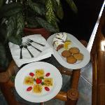 5 o'clock tea mit Chocolate Tea und frisch gebackenen Leckereien