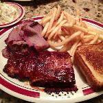 Rib City BBQ Dinner