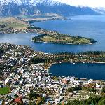 Queenstown from atop