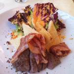 Ramada toast salad