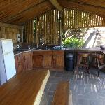 outdoor kitchen - very well equipped