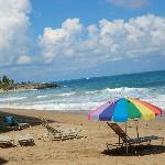 Beach close to Casa Del Caribe
