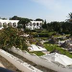 Leisure pool oasis area