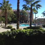 View from room 164 - pool looks great for families