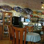 pleasant restaurant serves delicious food