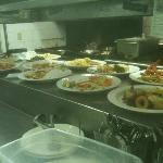 Busy night - big tables