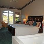 Comfortable, well laid out rooms, most with super views.