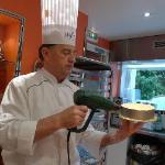 Chef Phillipe -instructor for Millefeuille class