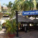 Cookies shop locate behind the margaritas, 2nd floor