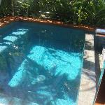 Private pool in suite