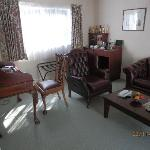 Lounge - Oxford suite - good mini bar, free Waiwera waters etc