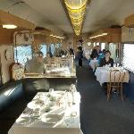 Breakfast dining car
