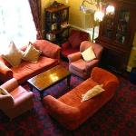 Backing sitting room