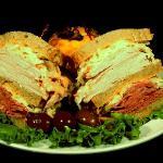 Two meat deli sandwich!!!
