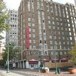 Exterior of the Residence Inn in Memphis