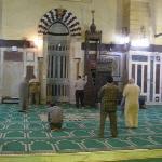 Inside a masjid Old islamic Cairo