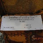 Dulcimer maker sign