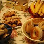 E oggi: bagels!