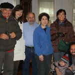 Tutta la famiglia con Trudy e Paul
