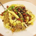 Vege Misua Guisado noodles