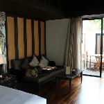 One bed room Pool Villa - Room Sitting Area