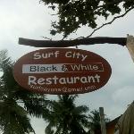 black & White sign..!!!