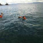 5 mnts from khai island snorkelling