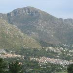 view on Hout Bay