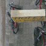 Insegna con bici