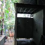 Private outdoor shower .. there is also one inside :)